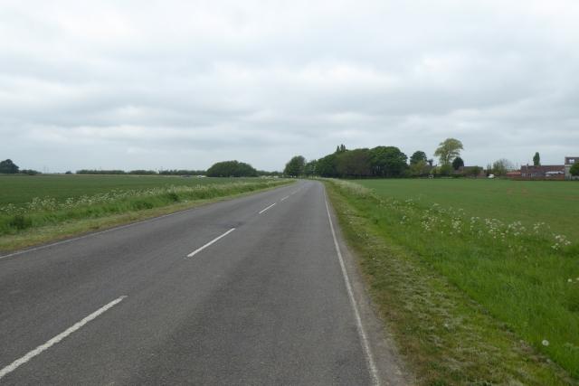 Road south of Burringham