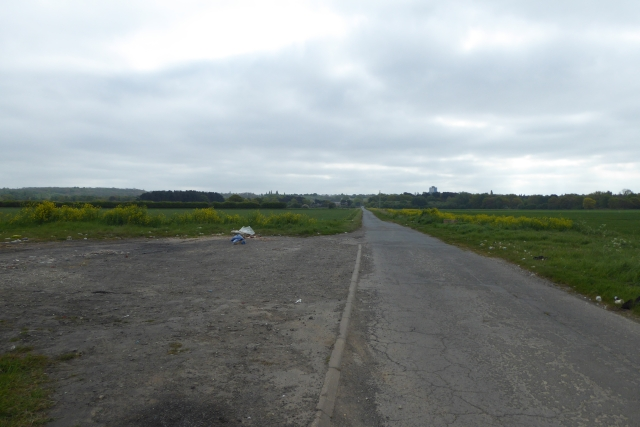 Road leading to Scunthorpe