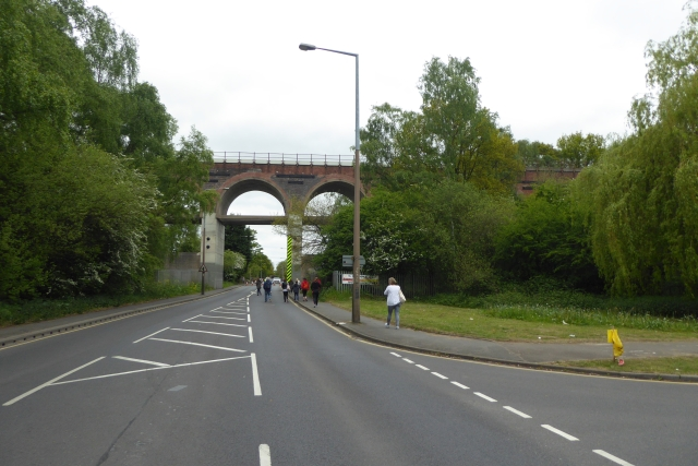 Viaduct over Scotter Road