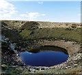 SO1012 : Sinkhole at low water : Week 19