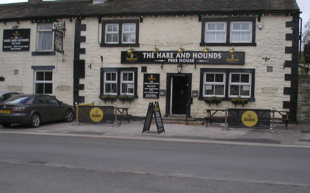 Lothersdale:  Dale End: The Hare and Hounds