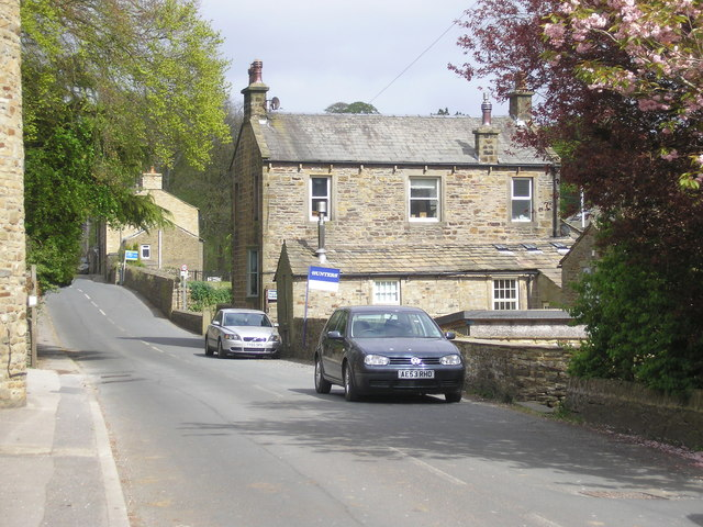 Dale End:  Rook Street, view looking east