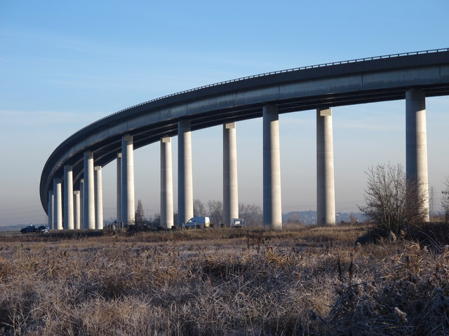 The Sheppey Crossing over The Swale (3)