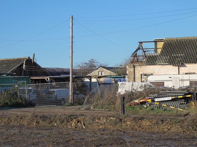 """Industrial Estate"" at ""Marshbank Farm"" east of Old Ferry Road"