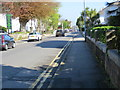 SW6439 : Basset Road in Camborne by Peter Wood