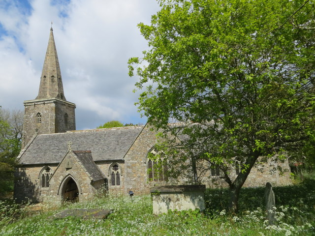 The Church of St Hilary at St Hilary, Cornwall