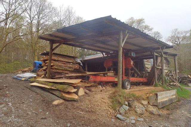 Sawmill at Beckfoot