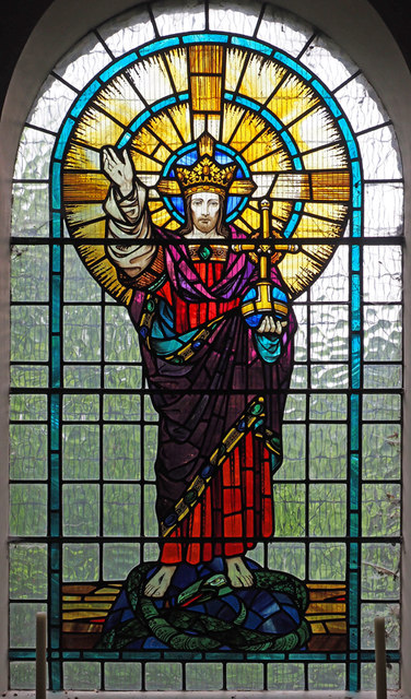 St Peter in the Forest, Walthamstow - Stained glass window
