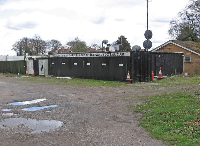 Glapwell - Hall Corner Football Ground
