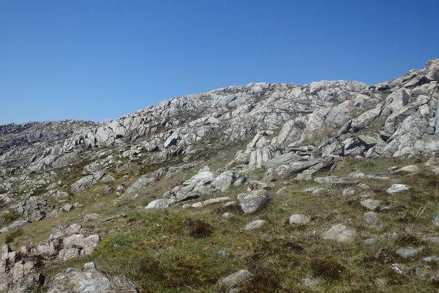 Ascending Brantrake Crags