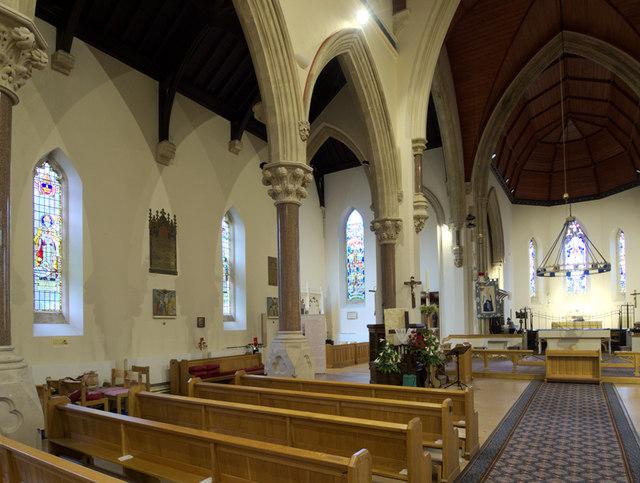 St George, Bickley - North arcade