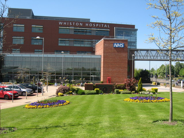 Whiston Hospital Main Entrance