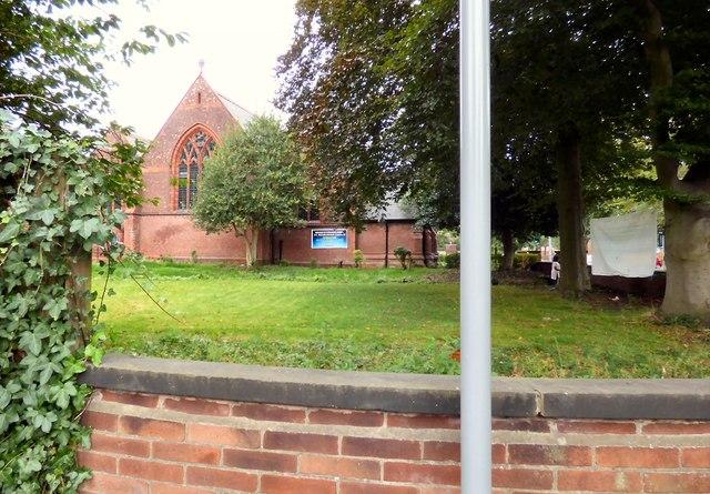 St Werburgh's churchyard