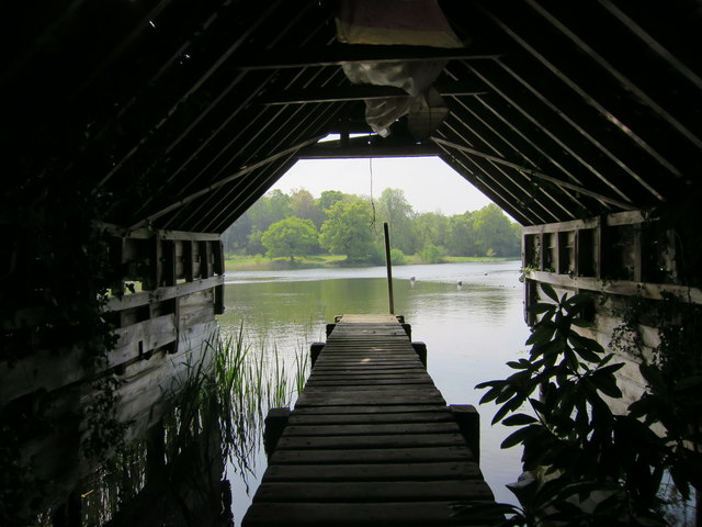 Boat house at Ashburnham Place