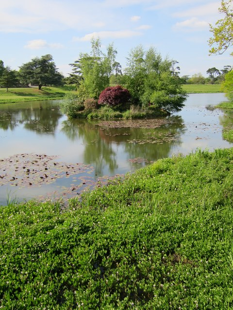 Lake at Ashburnham Place