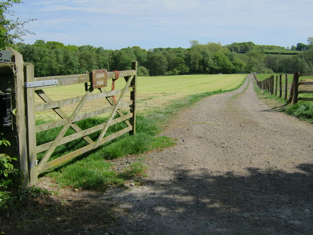 Track to Lemons Farm
