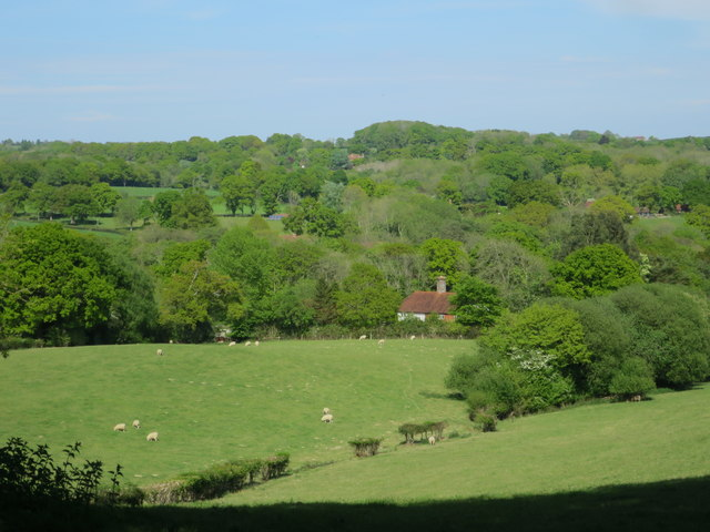 View to Pilley Farm