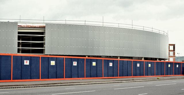 New car showroom, Sydenham Road, Belfast - May 2017(1)