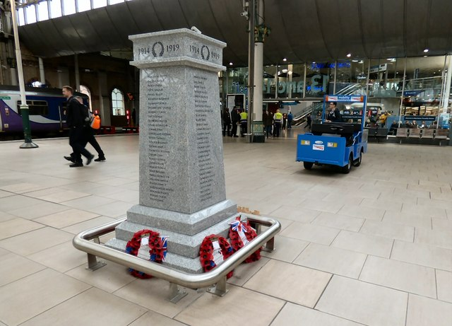 War Memorial at Piccadilly Station