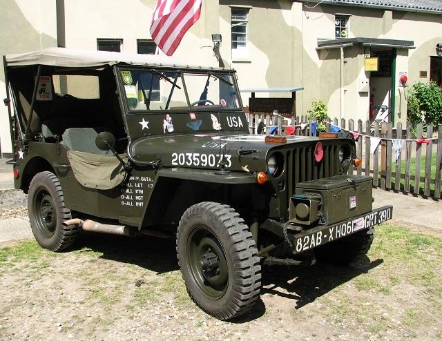 A re-enactor's American Jeep
