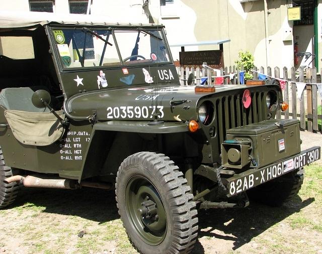 A WW2 American Jeep