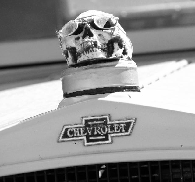 1930s Chevrolet half-ton pickup (detail)