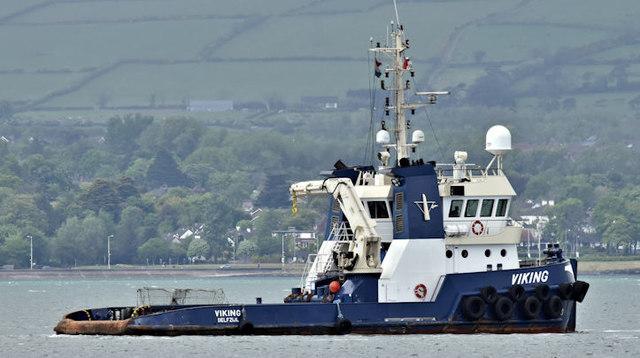 """The """"Svanen"""", Belfast Lough - May 2017(3)"""