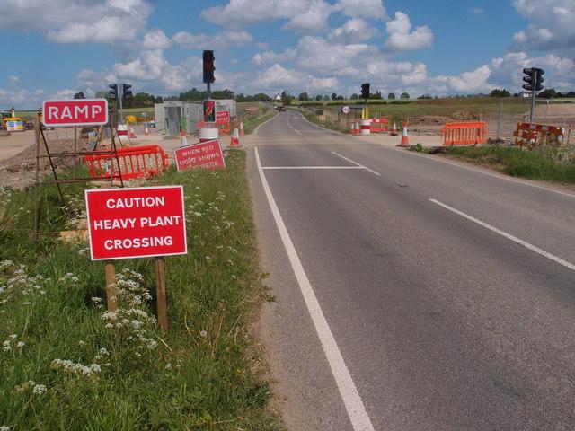 A14 road improvements