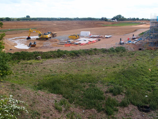 A14 road improvements