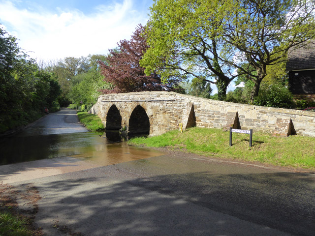 Ford and bridge, Sutton