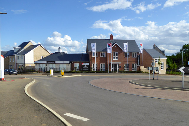 New housing development, Potton