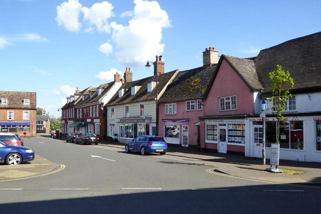 Market Square, Potton, south side
