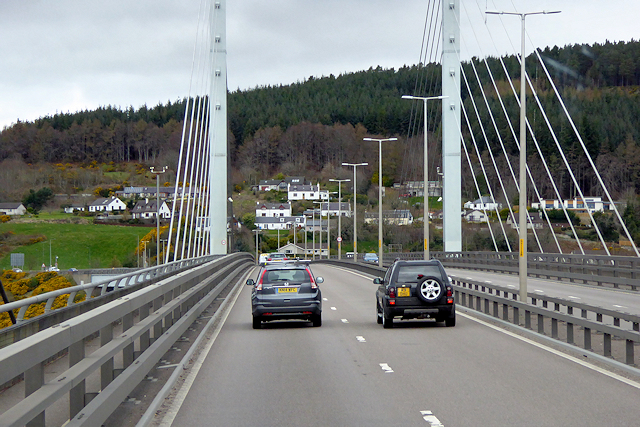 Kessock Bridge, A9