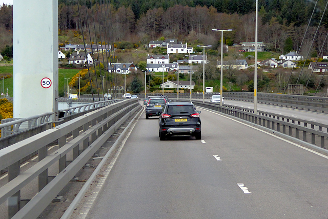 Kessock Bridge towards North Kessock