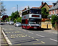 SO8405 : Double-decker bus, Cainscross Road, Stroud by Jaggery