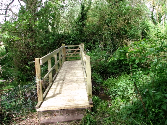 New footbridge over The Beck