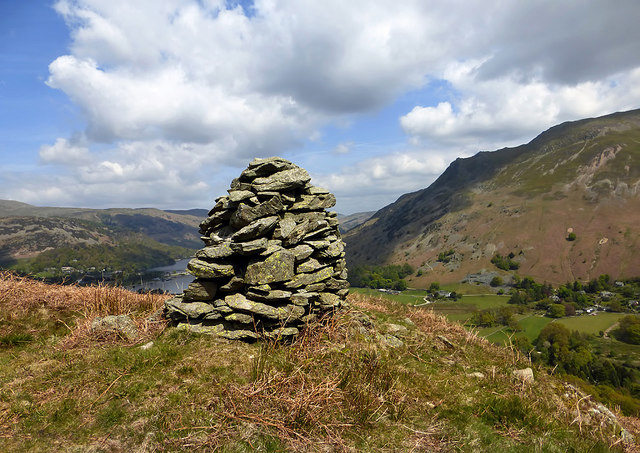A cairn at Oxford Crag