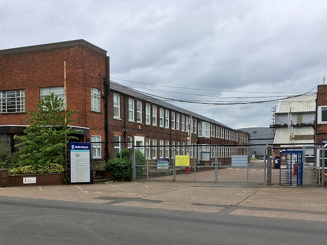 Gate Number 10, Rolls Royce Factory at Derby