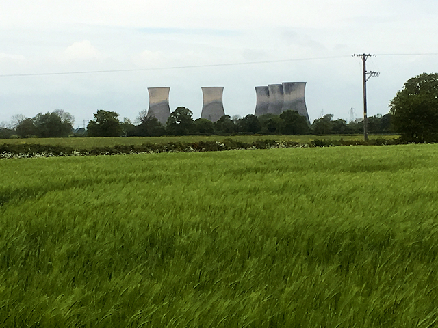 Cooling Towers at Willington