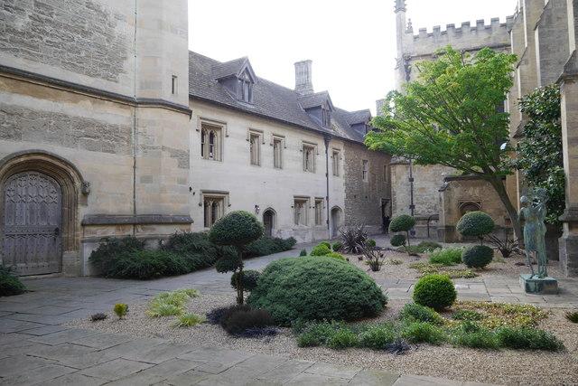 Chaplain's Quad, Magdalen College, Oxford