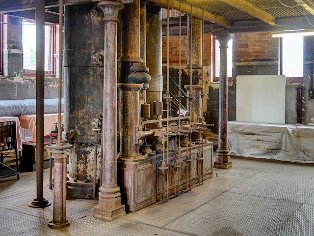 Claymills Victorian Pumping Station, A Engine (Unrestored)