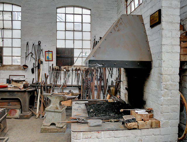 Claymills Victorian Pumping Station, The Blacksmith's Shop