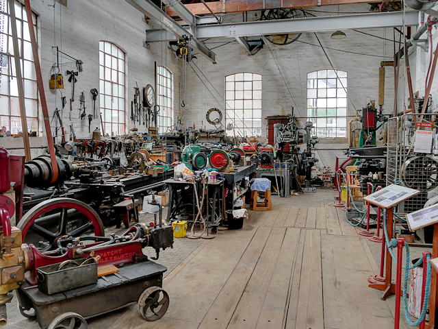The Workshop, Claymills Victorian Pumping Station