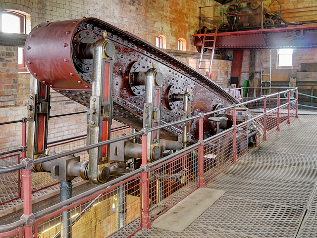 Claymills Pumping Station, Engine B Beam