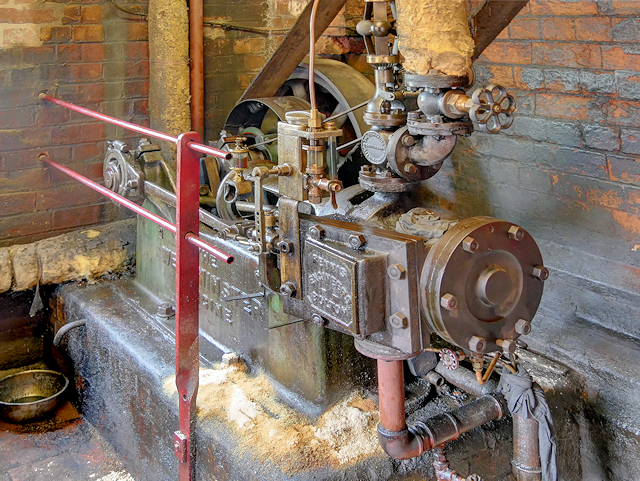 Westminster Engine at Claymills Sewage Pumping Station