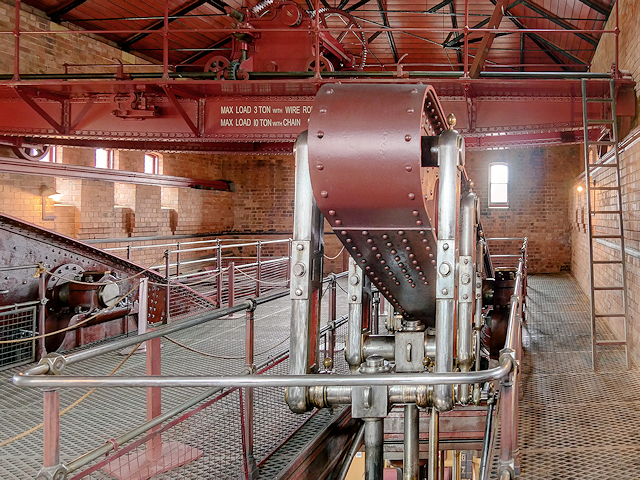 Beam Floor, CD Engine House at Claymills Victorian Pumping Station