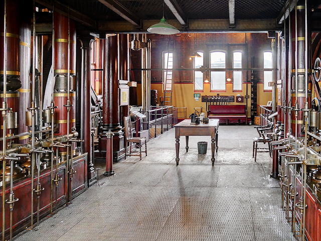 Driving Floor, CD Engine House at Claymills Victorian Pumping Station