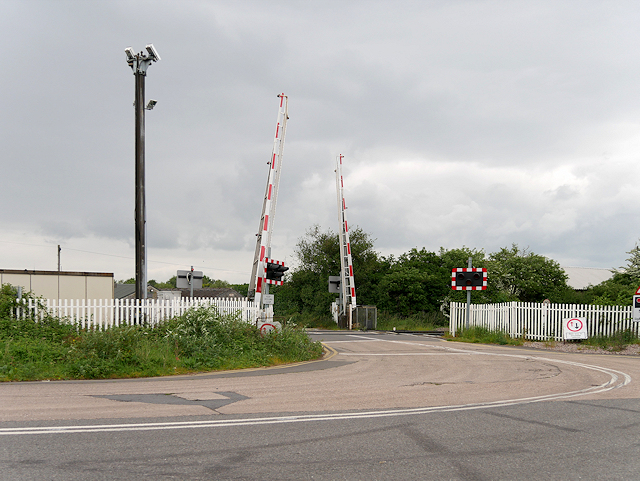 Meadow Lane Level Crossing (Claymills Junction)