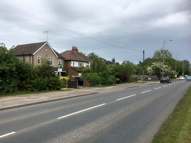 Derby Road (A5121), Stretton