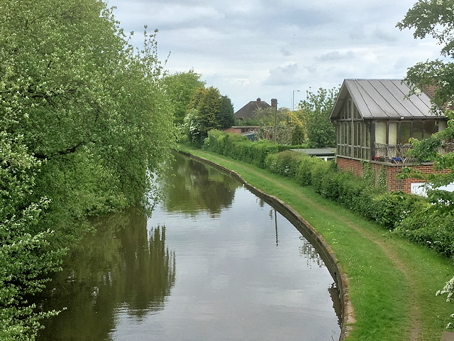 Trent and Mersey Canal at Stretton